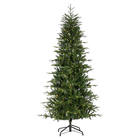 Sterling Tree Company 7.5 ft. LED Color-Changing Sante Fe Pine Christmas Tree, 6378--75CMLED