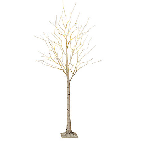 Everlasting Glow 6 ft. Electric Birch LED Tree, 2146430EC