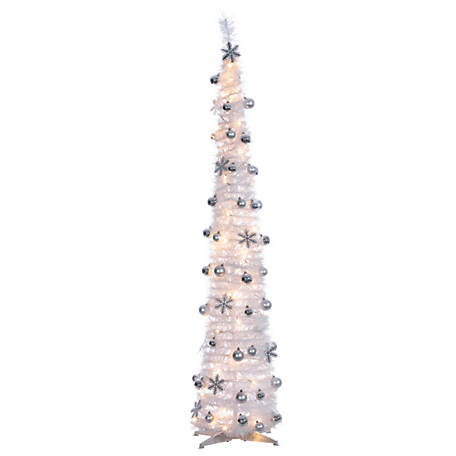 Sterling Tree Company 6 ft. Popup Decorated Whitetree, 6451--60MLWW
