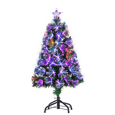 Sterling Tree Company 3 ft. Color -Changing Fiber Optic Tree, 6522--30M