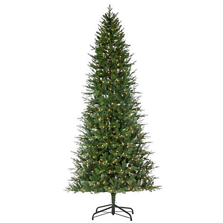 Sterling Tree Company 10 ft. Natural Cut Manitoba Pine Christmas Tree, 6633--10C