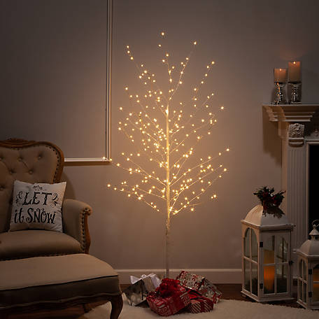Everlasting Glow 70.8 in. High Electric Tree with Warm White Micro LED Lights, 2507560EC