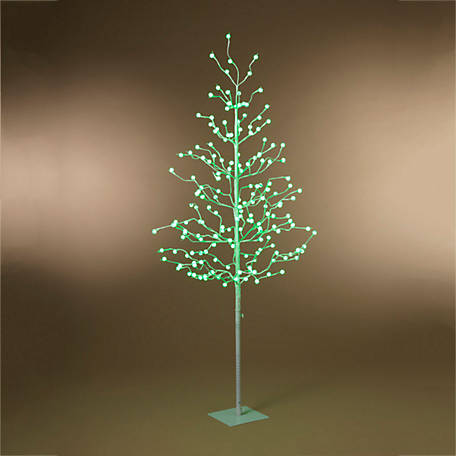 Everlasting Glow 48 in. Electric Crackle Ball Christmas Tree, 2508060EC