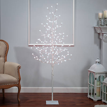 Everlasting Glow 72 in. Electric Crackle Ball Tree, 2508080EC