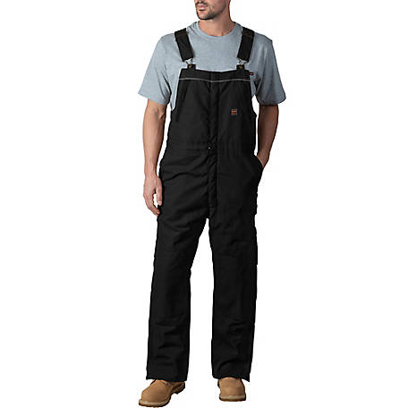 Walls Men's Frost DWR Insulated Duck Work Bib Overall