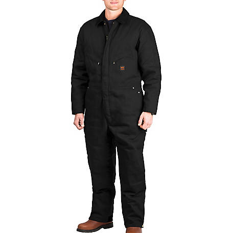 Walls Men's Garland Twill Insulated Work Coverall