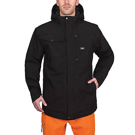 Walls Men's Bardwell Modern Work Waterproof Insulated Rain Jacket