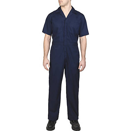 Walls Men's Taft Short-Sleeve Non-Insulated Work Coverall