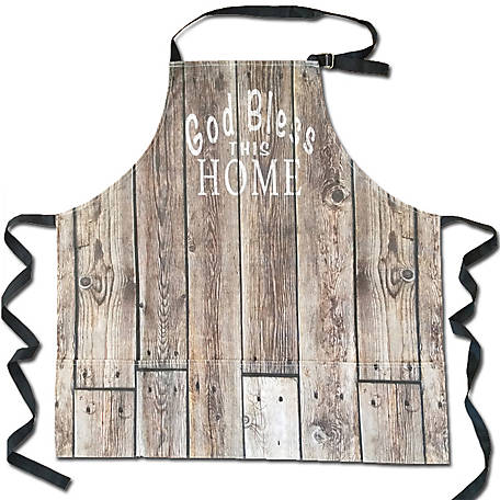 Cowboy Living God Bless This Home Apron, 5669
