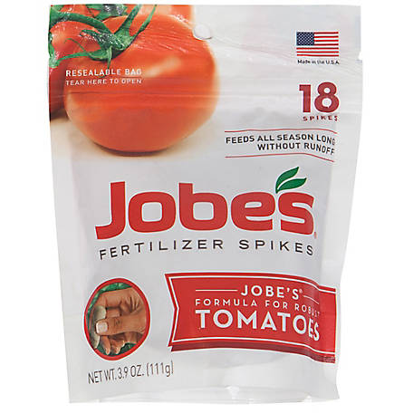 Jobe's 18 ct. Tomato Fertilizer Spikes, 06005