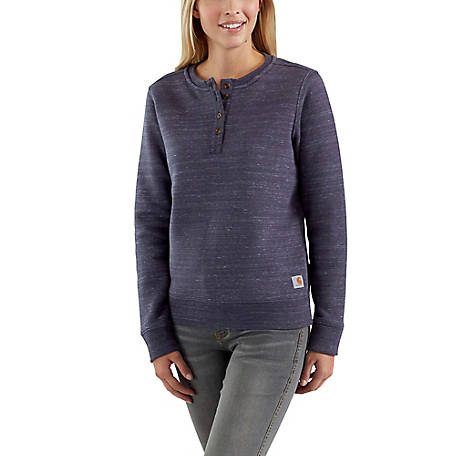 Carhartt Women's Long Sleeve Clarksburg Sweatshirt, 102794