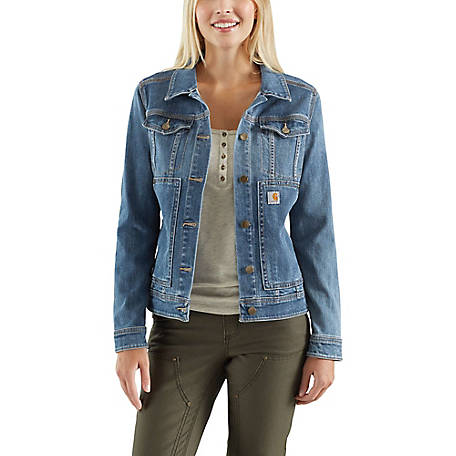 Carhartt Women's Denim Jacket, 102970