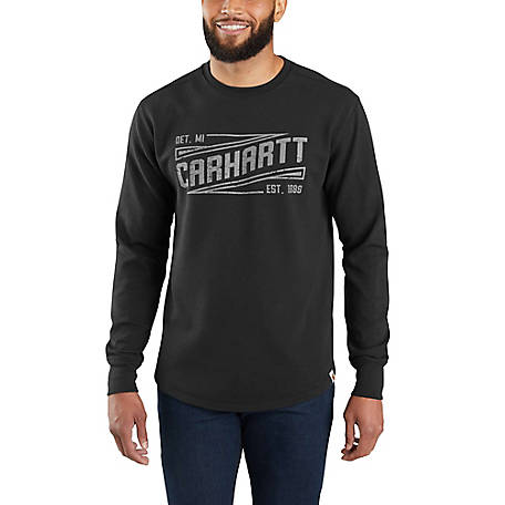 Carhartt Men's Long Sleeve Graphic Crew Tee Shirt, 103850
