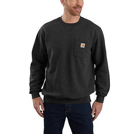 Carhartt Men's Pocket Crew Neck Sweatshirt, 103852