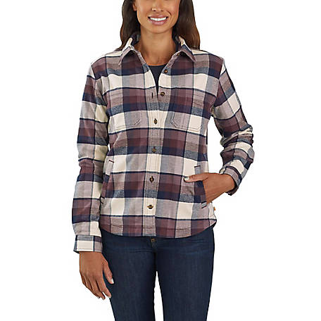 Carhartt Women's Hamilton Fleece Lined Shirt, 103239