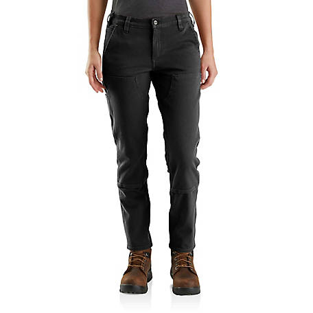 Carhartt Women's Straight Fit Double Front Pant, 104296