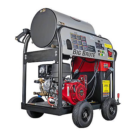 Simpson Big Brute 4000 PSI at 4.0 GPM HONDA GX390 with COMET Triplex Plunger Pump Gas Pressure Washer, 65106