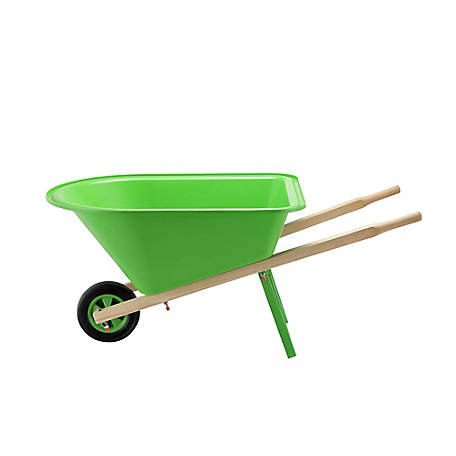 Barn Star Kids Green Wheelbarrow, WH0201