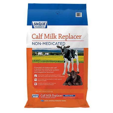 Sav-A-Caf Wellness 20-20 Calf Milk Replacer, 25 lb.