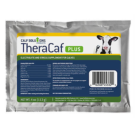 Calf Solutions Theracaf Plus Electrolyte, 4 oz.
