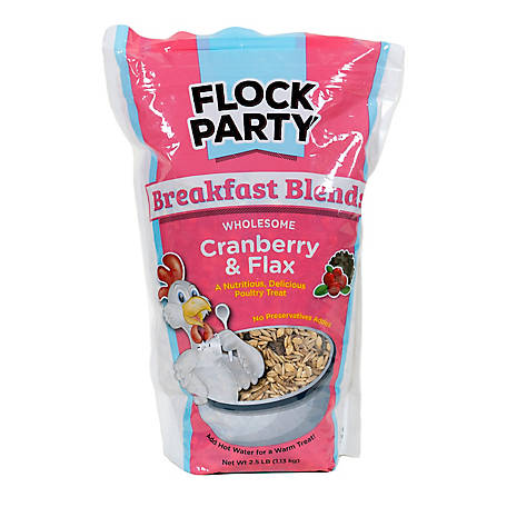 Flock Party Breakfast Cranberry Flax 2.5 lb., 1030472