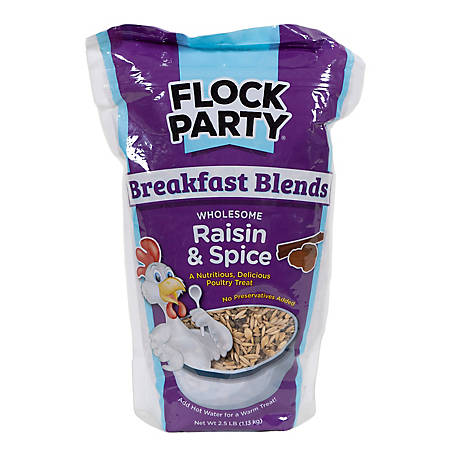 Flock Party Breakfast Raisin Spice 2.5 lb. 1030471