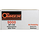 Orangeline 9000 ft. of Polypropylene Baler Twine, 130 lb. Tensile Strength, Orange
