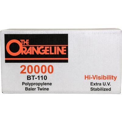 Buy 20000 ft. of Polypropylene Baler Twine; 110 lb. Tensile Strength; Orange Online