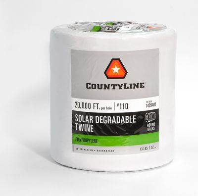 Buy CountyLine 20000 ft. of Degradable Plastic Twine; 110 lb. Tensile Strength Online