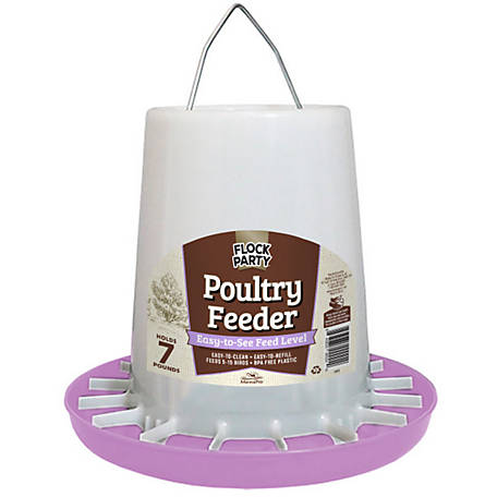 Flock Party 7 Lb Feeder Lavender, 1030526,
