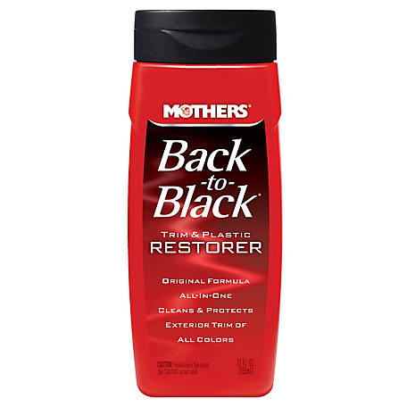 Mothers Back2Black Trim & Plastic Restorer 12 oz., 6112