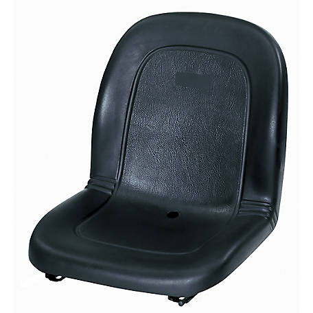 Black Talon Ultra Highback Seat with Integral Poly Slides, Black, 120000BK