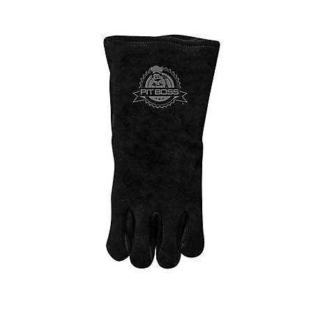 Pit Boss Heavy Duty Leather Gloves, 68015
