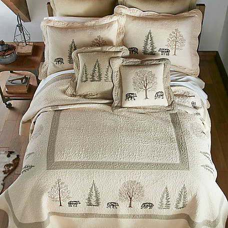 Donna Sharp Bear Creek King Quilt, 95307