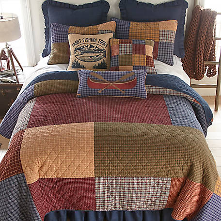 Donna Sharp Lakehouse King Quilt, 83707