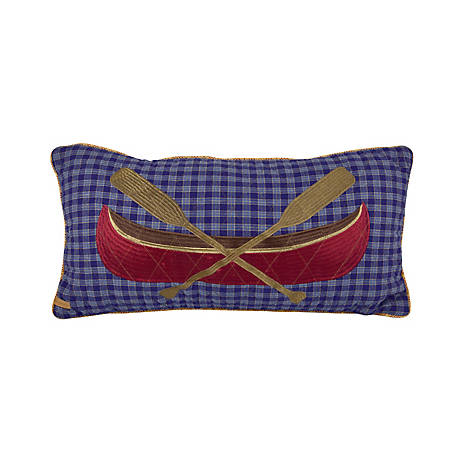 Donna Sharp Lakehouse Rectangular Pillow, 83717