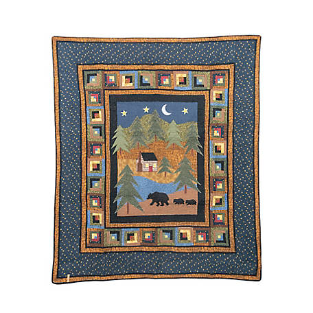 Donna Sharp Midnight Bear Throw, 90908