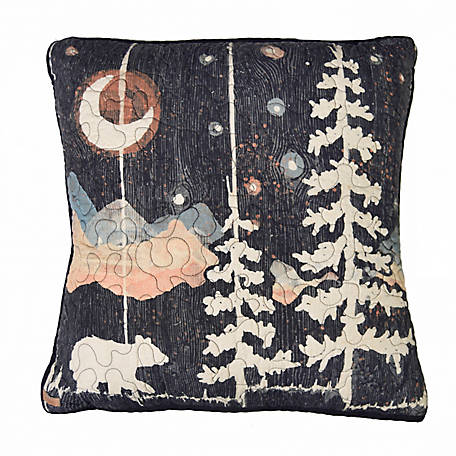 Donna Sharp Moonlit Bear Decorative Pillow, 61101