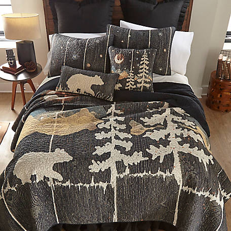 Donna Sharp Moonlit Bear King Quilt, 61107
