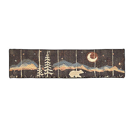 Donna Sharp Moonlit Bear Valance Runner, 61109