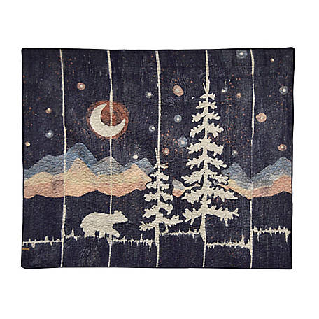 Donna Sharp Moonlit Bear Throw, 61110