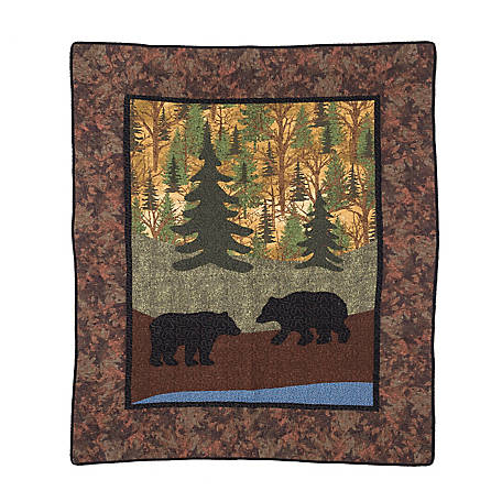 Donna Sharp Two Bears Throw, 60480