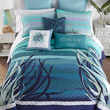 Donna Sharp Summer Surf Queen Quilt, 87006