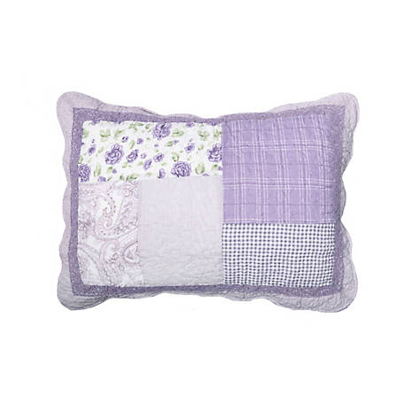 Donna Sharp Lavender Rose Sham, 82042
