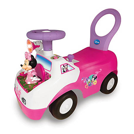Kiddieland Disney Minnie Mouse Dancing Light & Sound Activity Ride-On, 55541
