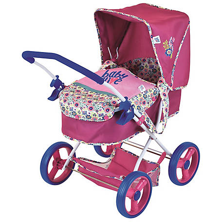 Baby Alive Doll Pram for Baby Dolls, D86491