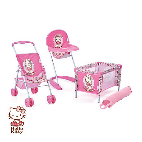 Hello Kitty 3-Piece Baby Doll Playset, D98282