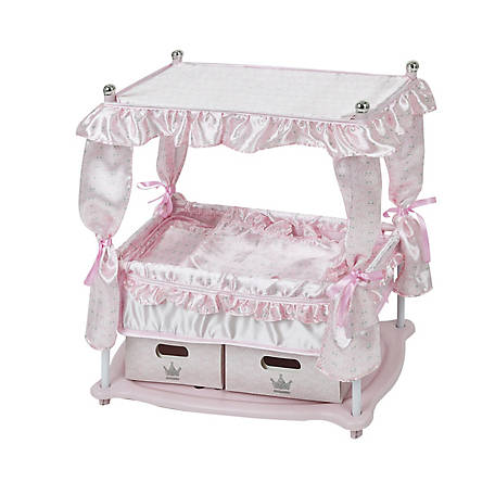 Hauck Hauck Pretend Play Princess Pink Baby Doll Bed, D90416