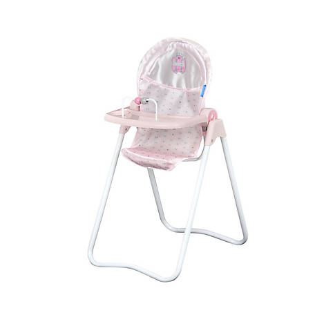 Hauck Pretend Play Princess Pink Snacky Baby Doll High Chair, D92816