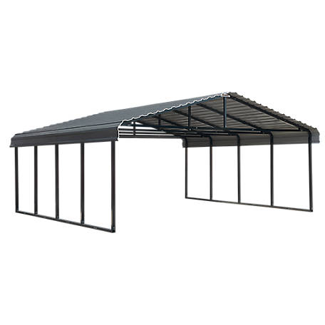 Arrow Carport 20 x 20 Charcoal, CPHC202007